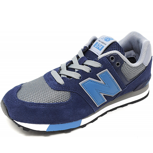 New Balance 574 Sneaker 10 blau