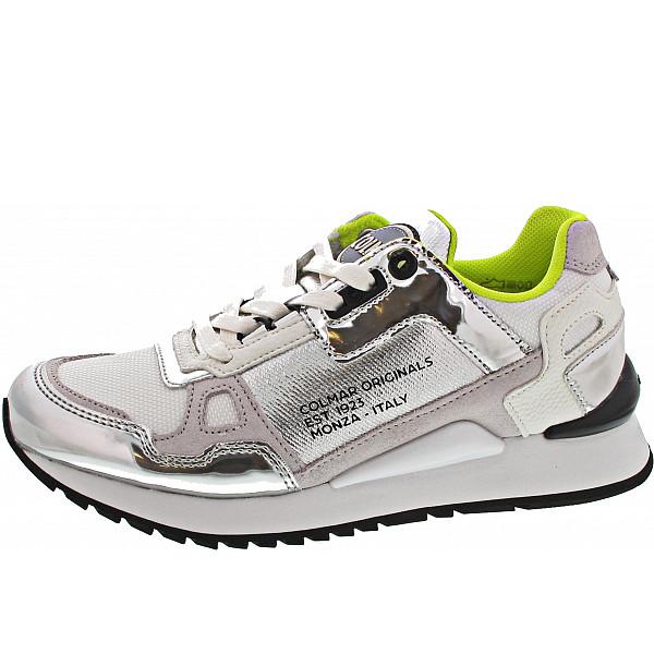 Colmar Sneaker silver-white-lime