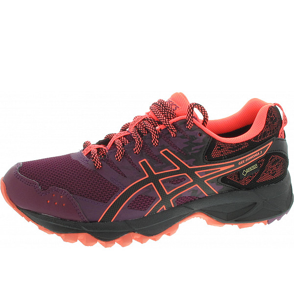 Asics Gel Sonoma 3 gtx Sportschuh dark purple/blk/flash cor