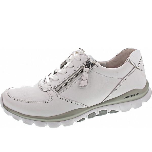 Gabor Comfort Sneaker weiss/silber