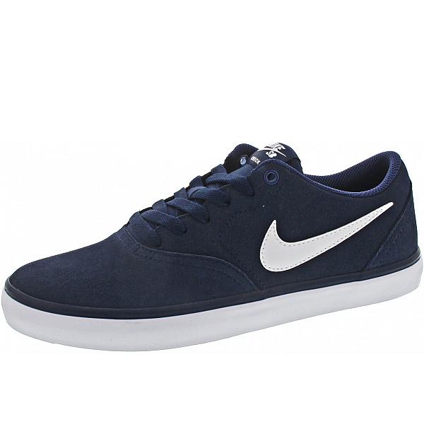 Nike SB Check Solar Sneaker midnight navy - wht