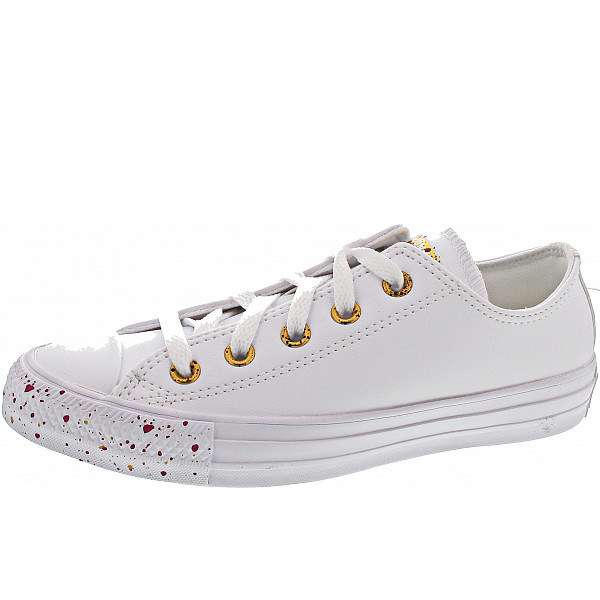 Converse Chuck Taylor All Star OX Chucks white-gold-rose-maroon