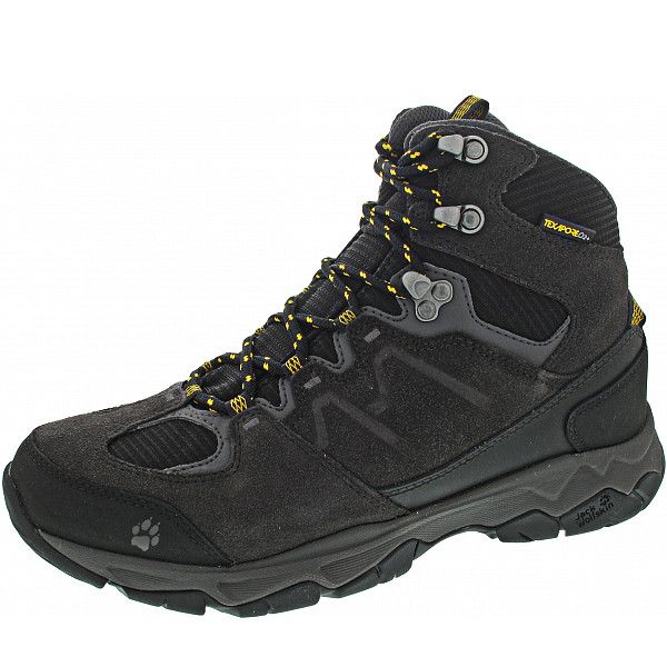 Jack Wolfskin MTN Attack 6 Texapore Mid Wanderstiefel burly yellow