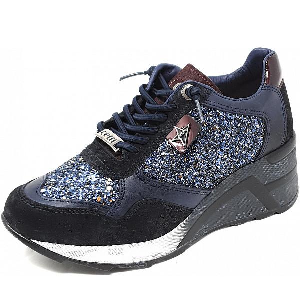 Cetti Sneaker glitter navy