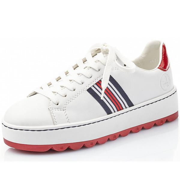 Rieker Sneaker weiss/ flamme