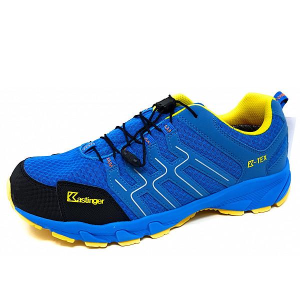 Kastinger Trailrunner Trekkingschuh blau gelb