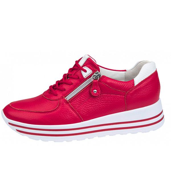 Waldläufer Sneakers rot weiß