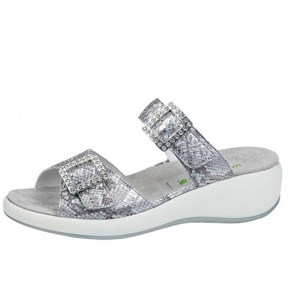 Waldläufer Pantolette cement