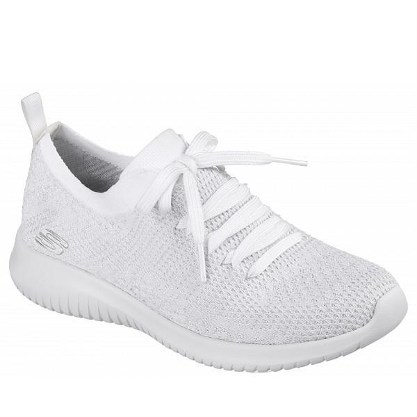 Skechers Sportschuh white/ silver