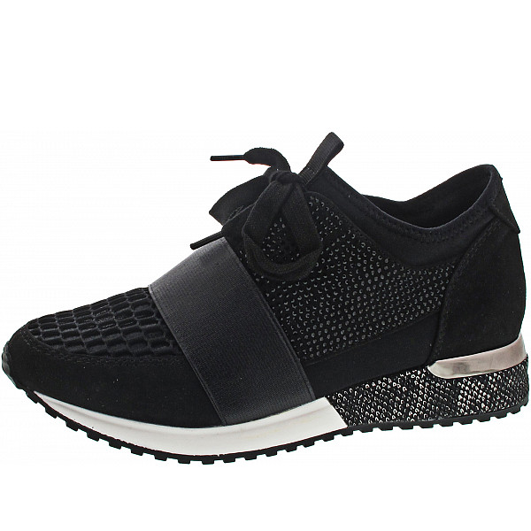 La Strada Sneaker lycra black