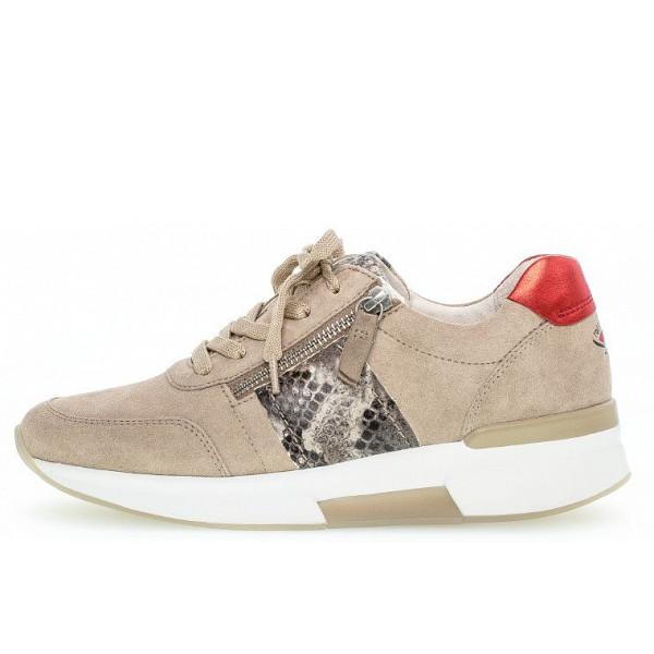 Gabor Sneaker silk/grey/rosso