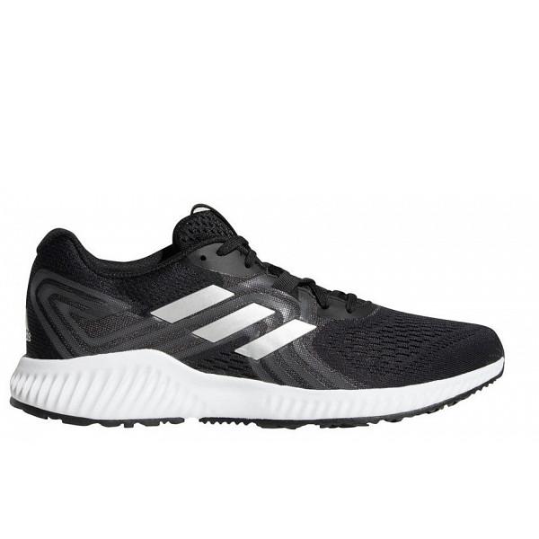 adidas Laufschuh core black/silver met./hi-res aqua