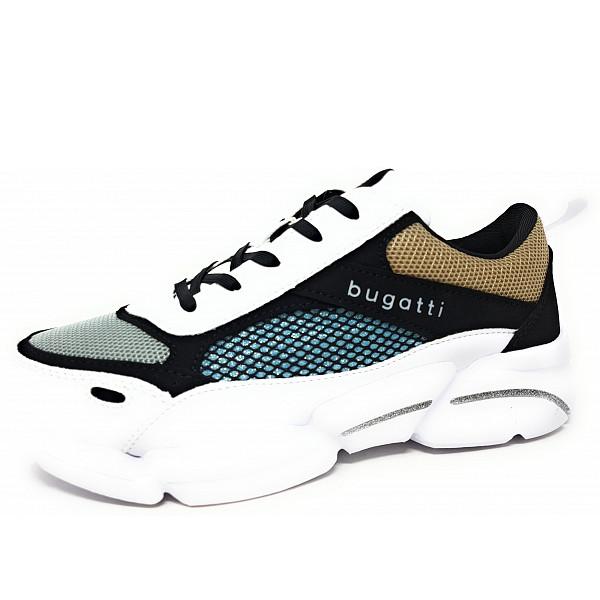 Bugatti Woman Shiggy Sneaker 2010 white black