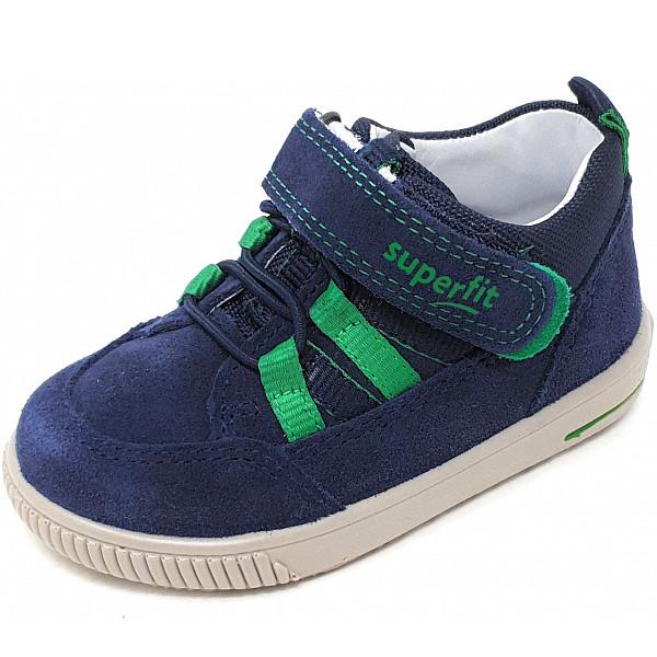 Superfit Sneaker blau grün