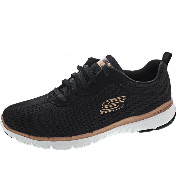 Skechers Flex Appeal 3.0 First Ins Sneaker bkrg