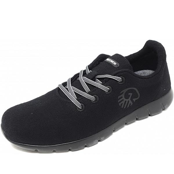 Giesswein Merino Wool Runner Sneaker 022 schwarz
