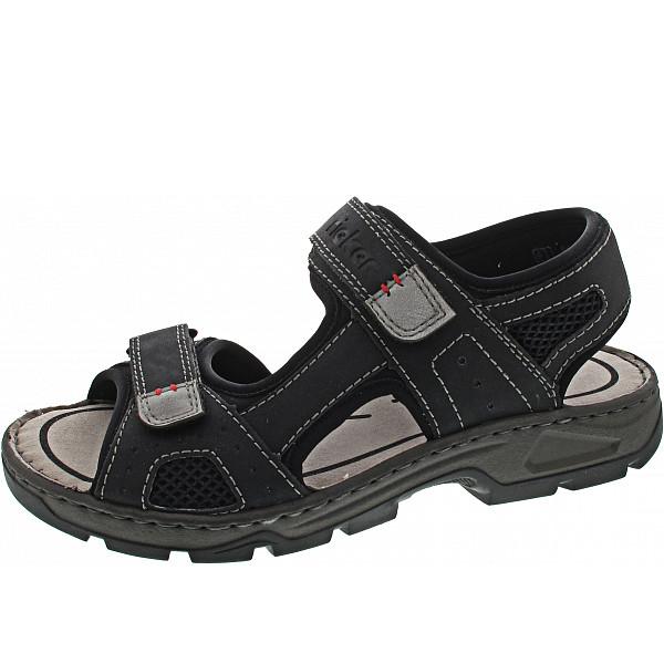 Rieker Sandale schwarz/schwarz/schwarz