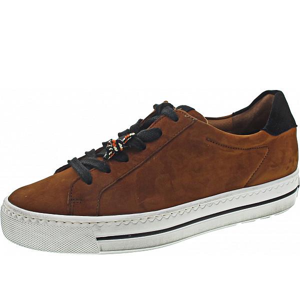 Paul Green Sneaker cognac-schwarz