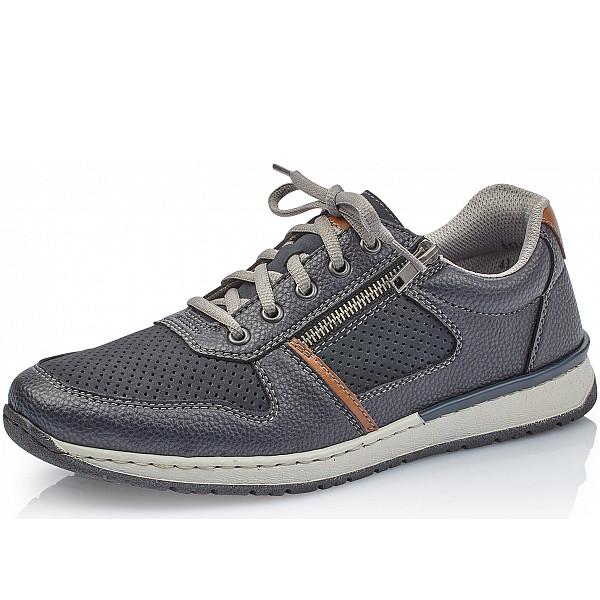 Rieker Sneaker navy pazifik amaretto