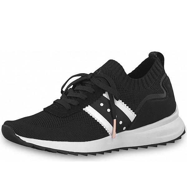 Tamaris Fashletics Sneaker schwarz weiss