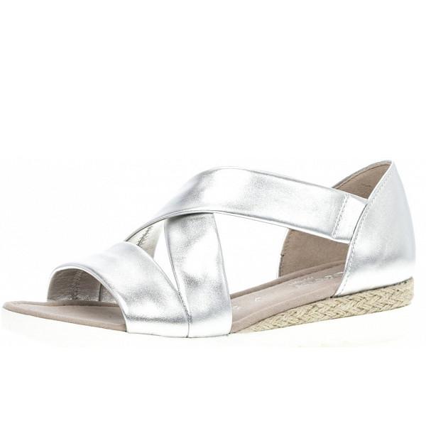 Gabor Comfort Sandalen silber