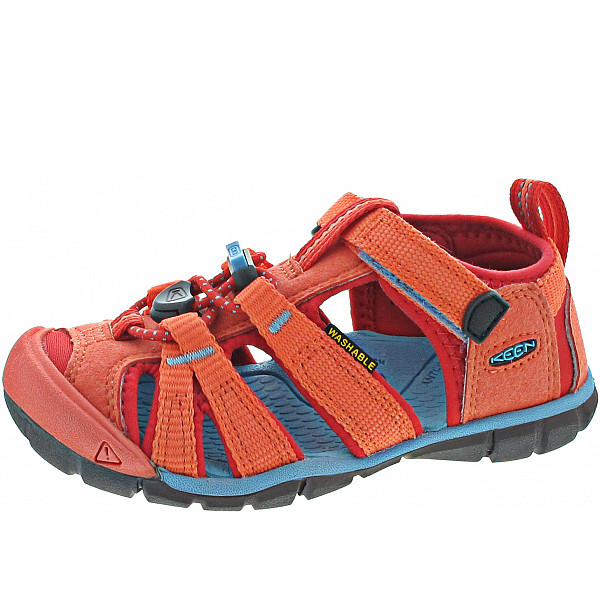 KEEN Seacamp II CNX Sandale coral-poppy red