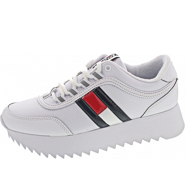 Tommy Hilfiger Flag Sneaker Sneaker white