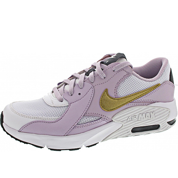 Nike Air Max Excee (GS) Sneaker white-metallic gold-lilac