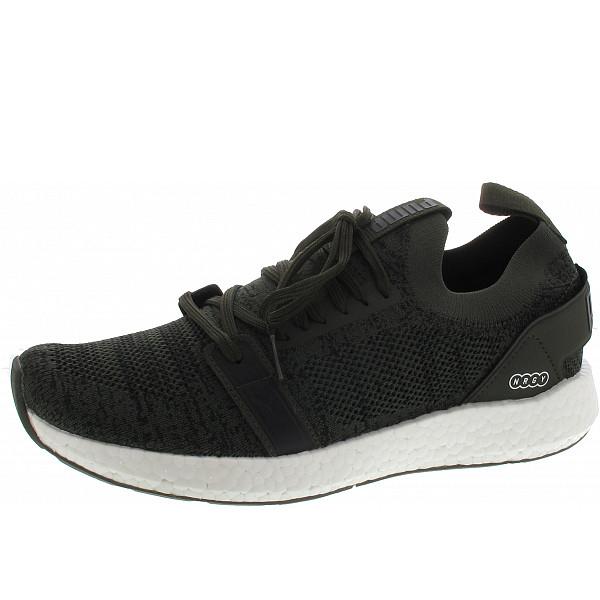 Puma NRGY Neko Engineer Knit Sneaker forest night - puma black