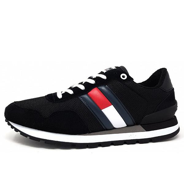Tommy Hilfiger Sneaker Schnürer BDS black