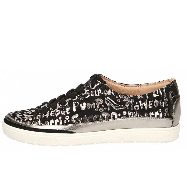Caprice Sneaker BLACK LETTERS