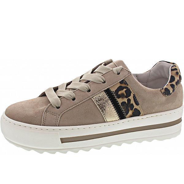 Gabor Comfort Sneaker desert/natur/schwarz
