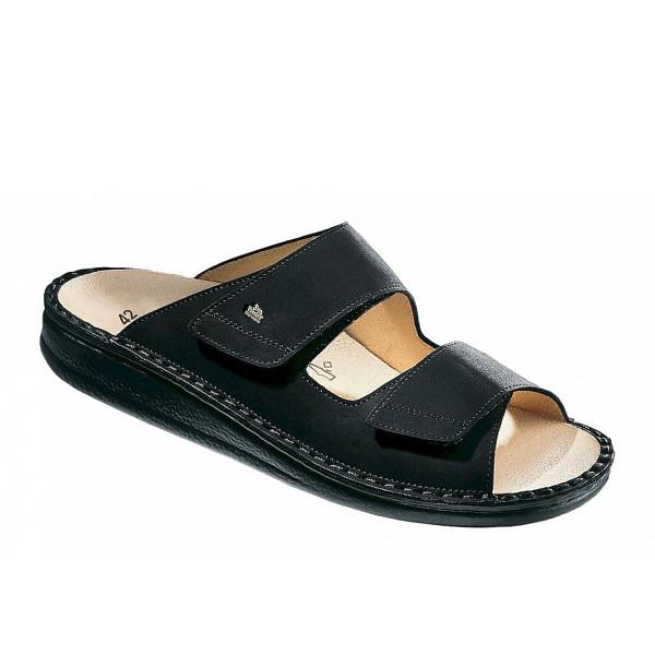Finn Comfort Riad Pantolette black