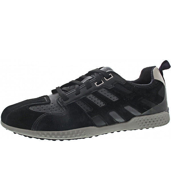 Geox Snake 2 Sneaker black-stone