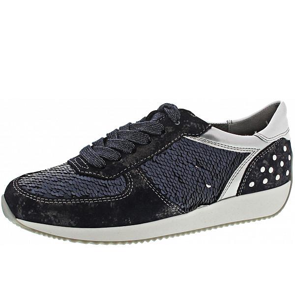 Ara Lissabon Sneaker blau-silber-weiss