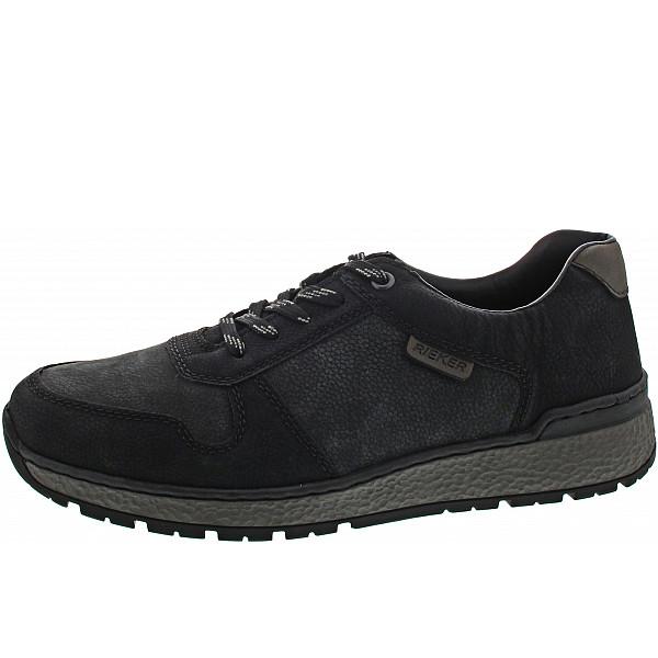Rieker Sneaker schwarz/mare/graphit