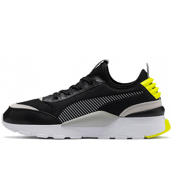 Puma Sneaker Puma Black-Gray/ Violet-Yellow Alert