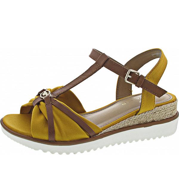 Tom Tailor Sandalette yellow